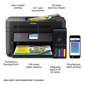 Epson Workforce WF-7720 Wireless Wide-Format Color Inkjet Printer